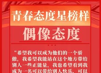 [新闻]210305 黄明昊正能量语录频出 青春态度星榜样当之无愧