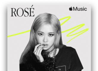 """[新闻]210308 ROSÉ 参与Apple Music""""世界女性日""""独家主题歌单...韩国唯一艺人"""