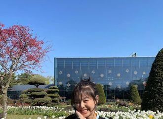 [分享]210414 BLACKPINK JENNIE,可爱本身...花园里一朵JENNIE花