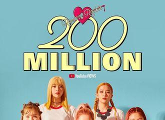 [新闻]210415 Red Velvet《Russian Roulette》MV点击量突破2亿次