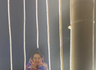 [新闻]210417 迪丽热巴已收到爱丽丝的自拍暗号 清库存晒出反季节自拍照