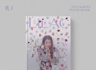[新闻]210423 IU 5th Album《LILAC》PHOTO BOOK今日起预售