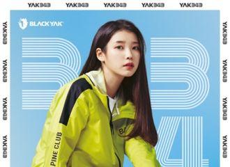 """[新闻]210426 """"像运动鞋一样漂亮"""",IU代言的Black Yak登山鞋销售额跃升100%"""