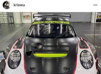 [新闻]210506 吴亦凡更新INS分享心爱的车车 今日GT短程绅士杯赛前测试赛车手小凡成绩优异