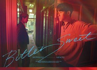 [新闻]210524 Seventeen 圆佑×珉奎《Bittersweet(Feat.李夏怡)》 预告海报公开