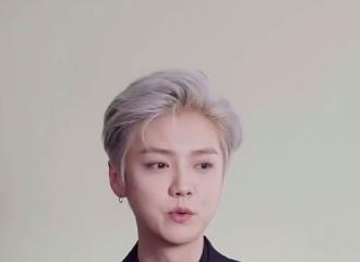 [新闻]210530 鹿哥对自己的脸有什么误解?鹿晗迷惑发言:我的长相不适合黑发