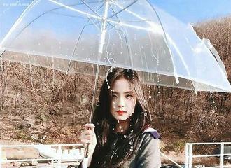 """[新闻]210603 BLACKPINK 智秀摘得""""想要一起撑雨伞的女爱豆""""主题投票第一名"""