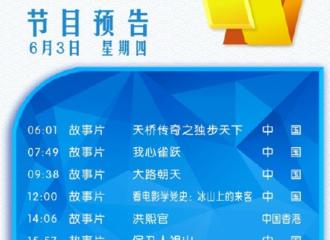 [新闻]210603 杨洋《急先锋》将于今晚20:15登陆CCTV6 一起准时收看雷震宇的高光时刻