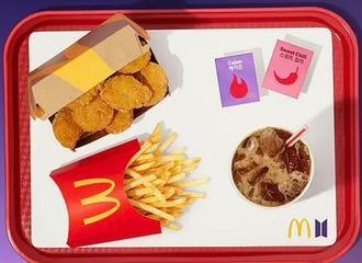 """[新闻]210611 """"麦当劳防弹少年团酱""""以43万韩元售出...防弹少年团掀起转售火花"""