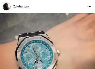 [分享]210718 鹿晗日前INS晒表的时尚科普 限量款的高贵格调一看知道