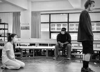 [分享]210725 珉锡音乐剧《冥界》排练现场图更新,强烈的氛围感