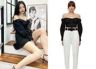 [新闻]210803 Red Velvet Joy,露出胸线条的果敢露肩装