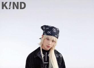 [新闻]210804 《K!ND》抖落银色长发造型新图 想做Justin老公的人已经围绕地球三圈了