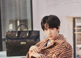 [分享]210830 没见过的Gucci男模刘耀文 未成年人的魅力已经尽数体现