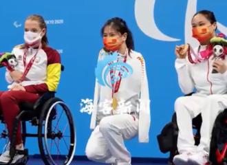 [新闻]210830 传递奥运精神正能量 赵丽颖转发东京残奥会新闻为奥运健儿加油