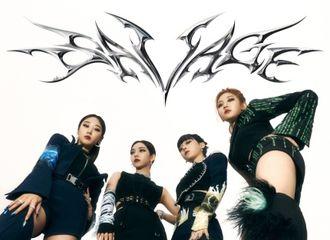 [新闻]211014 aespa,以《Savage》摘得Gaon排行榜榜首...综合症ing
