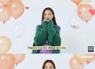 """[新闻]211016 Red Velvet 涩琪""""《街头女战士》舞者们很帅...我想一起合作"""""""